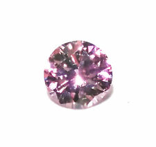 0.16ct Pink Diamond - Natural Loose Fancy Purplish Pink Round GIA Cert SI1