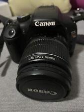Canon eos Rebel t2i DSLR camera