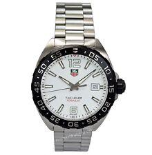 NEW Tag Heuer Formula 1 Quartz White Dial Men's 41mm F1 Watch WAZ1111.BA0875