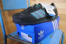 Adidas Training P.T. 70s Black & Green Trainers Sneakers UK 11