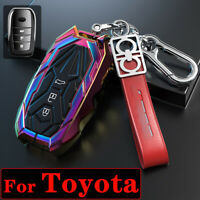 For Toyota Hilux Camry Corolla RAV4 2020 Zinc Alloy Car Key Fob Case Cover Shell