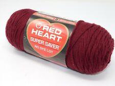 Red Heart Super Saver Claret 7oz 364 yards #4 Medium Yarn 100% Acrylic