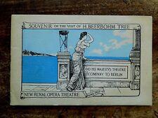 More details for 1907 souvenir brochure beerbohm tree tour berlin his majestys theatre ephemera