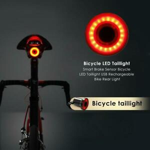 xlite100 Smart Brake Sensor Bicycle LED Taillight  Bike Rear Night Light Lantern