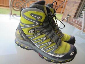 Salomon Mid Gore-Tex Contagrip Mens Hiking Shoes Boots sz 10.5
