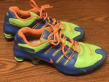 bd680d00e6c Nike 816117-997 Men s Shox ID Blue Green Orange Athletic Running Shoes Sz 13