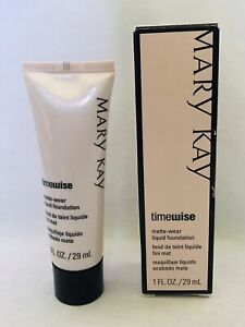 Mary Kay Timewise Matte Wear Ivory 5 Liquid Foundation New with Box