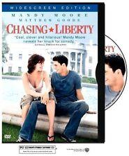 Chasing Liberty (DVD, 2004, Widescreen) Mandy Moore WORLD SHIP AVAIL