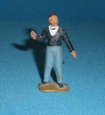 154A Jouet ancien Starlux plastique Figurine Cirque Monsieur Loyal 1/32