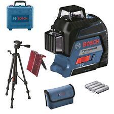 Bosch Linienlaser GLL 3-80 NEU ! Starke Sichtbarkeit ! im Koffer + Stativ BT 150