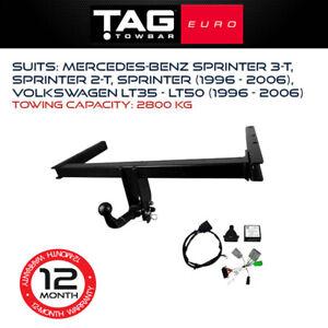 TAG Euro Towbar Fits Mercedes Benz Sprinter 2006-Current Towing Capacity 2800Kg