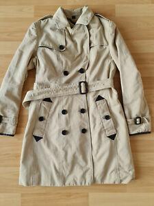 Original BURBERRY prorsum Trenchcoat Mantel Beige Gr.36, S