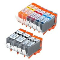 10 PK INK PGI-220 CLI-221 XL NON-OEM FOR CANON PIXMA MX860 MP560 IP4700 MP640