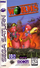 Worms Sega Saturn Great Condition Fast Shipping
