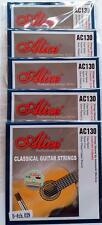 5 x Classical Guitar Strings Single D 4th String Nylon Normal Tension