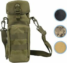 Tactical MOLLE H2O Water Bottle Pouch Hydration Carrier