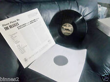 THE BEATLES PLEASE PLEASE ME STEREO ALBUM GOLD PARLOPHONE LABEL UNPLAYED MINT