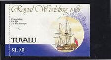 TUVALU #157a,160a  1981  ROYAL WEDDING   MINT VF NH O.G  C/B