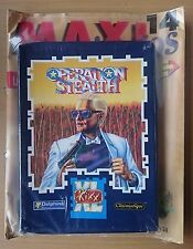 OPERATION STEALTH (PRECINTADO) - PC DISQUETE 3½ - DELPHINE ERBE ESPAÑOL Kixx XL