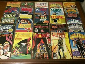 VINTAGE lot of 27 ECLIPSE comic books COPPER AGE CROSSFIRE ECLIPSE MONTHLY 093