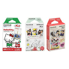 Hello Kitty Winnie The Pooh Mickey FujiFilm Instax Mini Film Polaroid 30 Photos