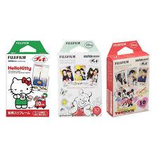 Hello Kitty Winnie The Pooh Mickey FujiFilm Instax Mini Film Polaroid 30 Photos