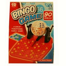 BINGO Lotto Family and Children's Traditional Game 90 Ball set New Kids Toys