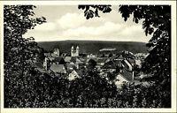 Bad Gandersheim Harz ~1940 Blick vom Bahnhof Roswithastadt Panorama ungelaufen
