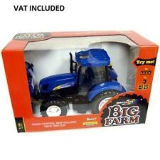 Britains 42601 big farm radio contrôlée new holland T6070 tracteur échelle 1:16