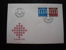 LIECHTENSTEIN - enveloppe 1er jour 12/3/1984 (B15)