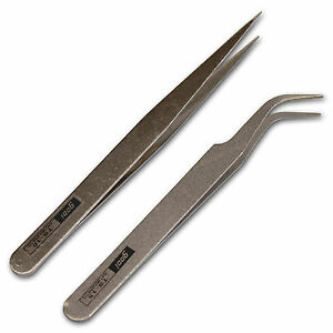 Tweezers for Art and Crafts Decoupage Nail Art Acrylic Gel Gem Picker Tool