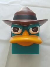 NEW Durable Plastic Disney Phineas and Ferb Perry Coin Bank, BRAND NEW