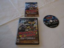 Sprint Cars: Road to Knoxville (Sony PlayStation 2, 2006) PS2 video game racing