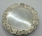 ANTIQUE RARE EARLY SOLID SILVER CARD TRAY 196 G.