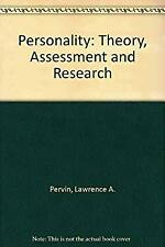 Wie Personality Theory Assessment and Research by Pervin, Lawrence A.