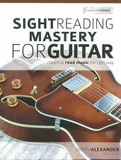 Sight Reading Mastery for Guitar LEARN TO Read Music Lesson Beginner Easy Book