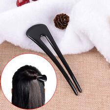 New U Shape Resin Hair Fork Hair Pin Hair Pick Square Hair Clip Hair Jewelry FO