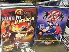 Kung Fu Madness / The Master Strikes (2-DVDS) John Chang, Casanova Wong, NEW!