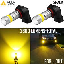 AllaLighting 72-LED 9140 Yellow 3000K Driving Fog Light Bulb Replacement Lamp VS