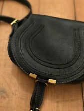 Authentic Preowned Chloe Marcie Leather Crossbody Black Mini Shoulder Bag