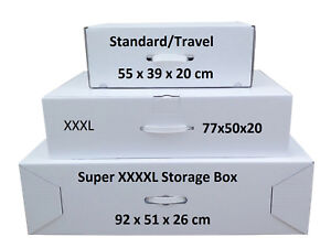 Wedding dress Storage & Travel boxes Airline cabin up to largest box available.