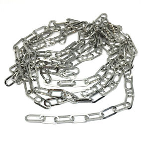6mm wide paperclip chain 304 stainless steel hypoallergenic elongated link
