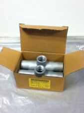 Lot Of 2 Crouse-Hinds Tb37 Conduit Bodies