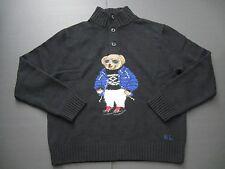 POLO RALPH LAUREN Men's 2015 Ltd Mockneck Intarsia-Knit Ski Bear Wool SweaterXXL