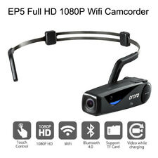 ORDRO EP5 Head Action Mini DV Camcorder Full HD 1080P Video Camera Wifi