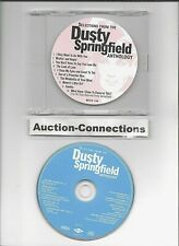 DUSTY SPRINGFIELD - Selections from Anthology - CD Promo HITS Sampler Remaster