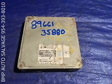 OEM 1994 TOYOTA 4RUNNER ECU # 89661-35880 ENGINE COMPUTER BRAIN ECM #1112 #U71Q