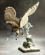 Hrolfgad Dwarf Griffon Rider Reaper Miniatures Warlord Cavalry Owl Lance Melee