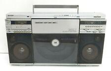 Boombox Sharp VZ-2500H ghettoblaster plattenspieler vintage radio sharp vz2500H