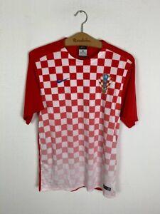 CROATIA HOME FOOTBALL SHIRT #10 MODRIC SOCCER JERSEY NIKE SIZE S